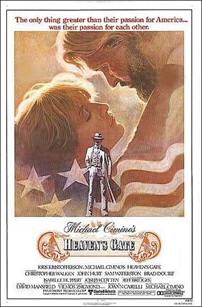 L'affiche originale de La Porte du Paradis.