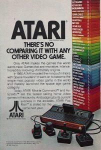 Outre sa grande ludothèque, Atari a misé sur des grandes campagnes commerciales.