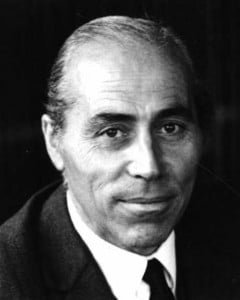 Jean Bertin, créateur de l'aérotrain