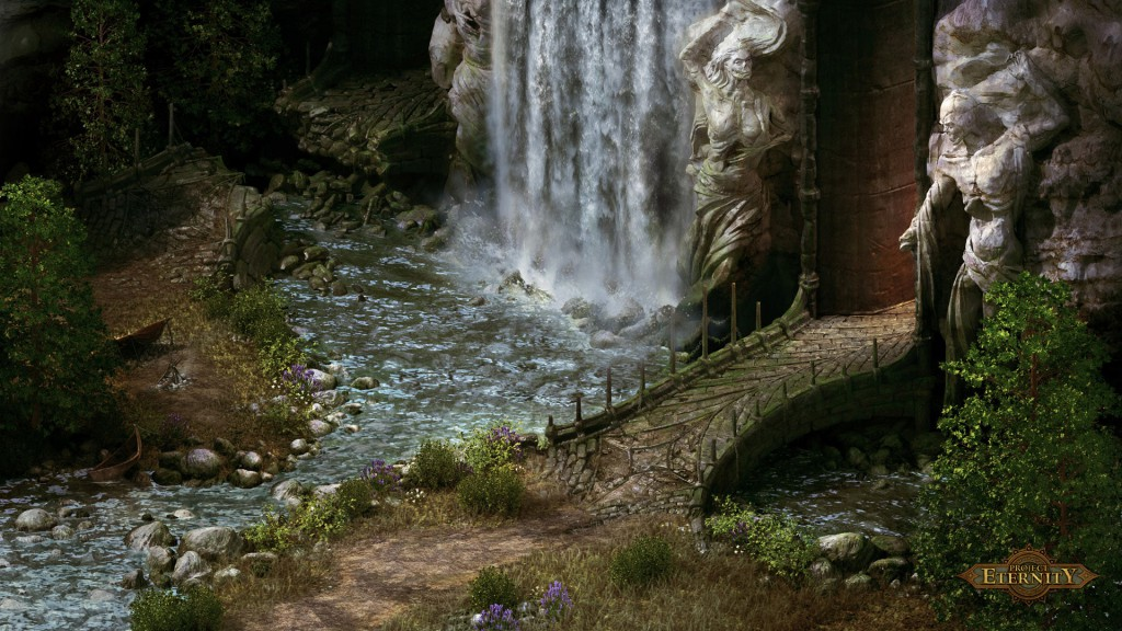 L'un des premiers artworks de Pillars of Eternity