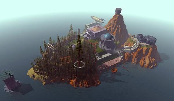 L'île de Myst. Là où l'aventure commence.