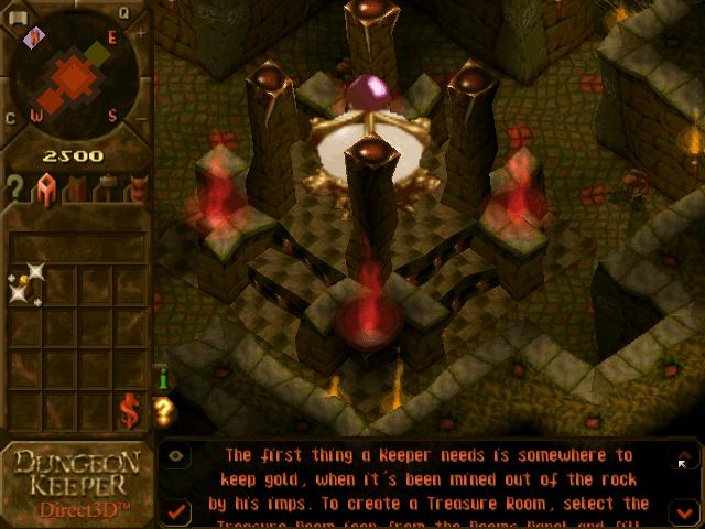 dungeon keeper gameplay