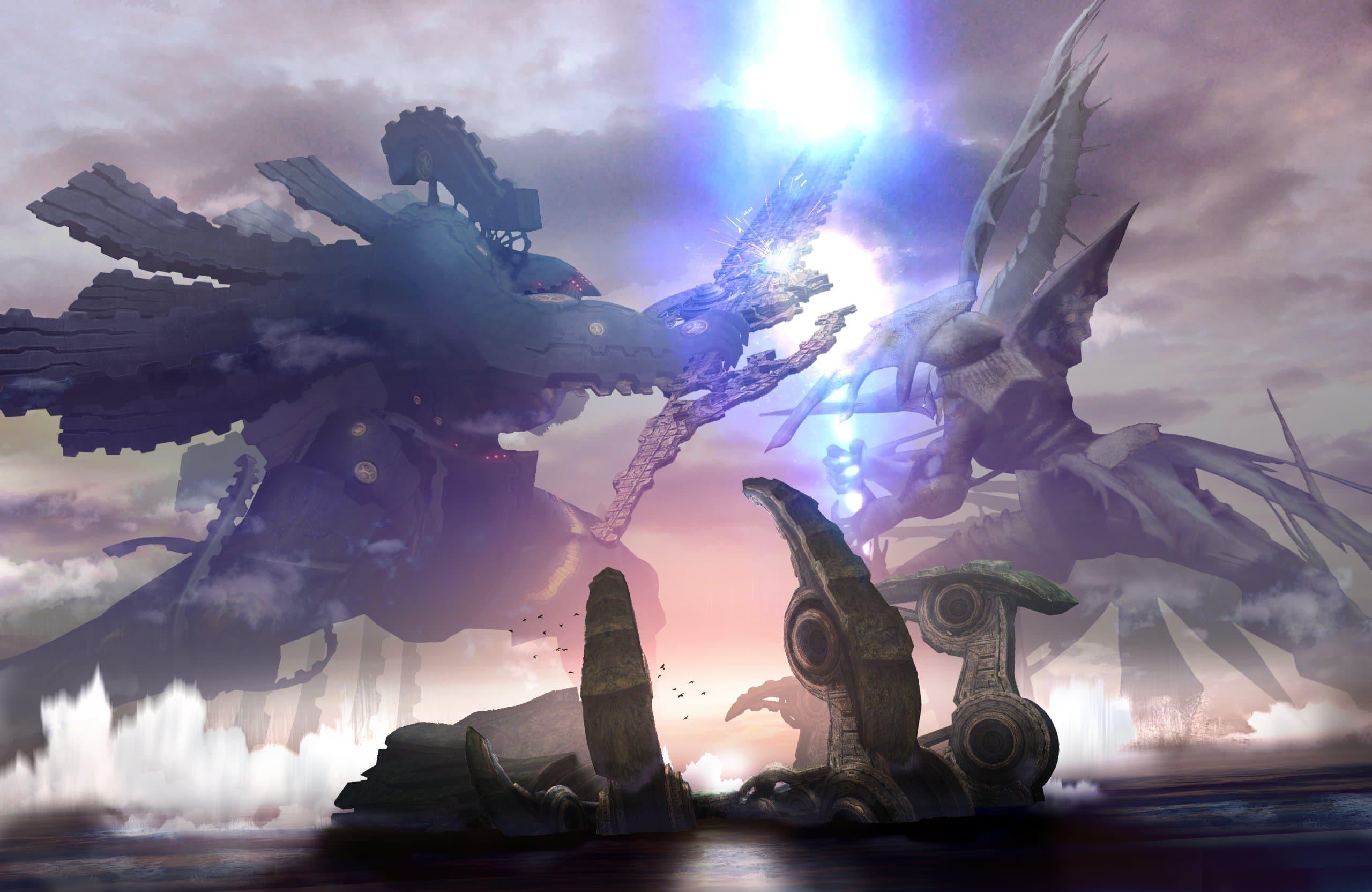 Xenoblade Chronicles – Bionis vs. Mekonis