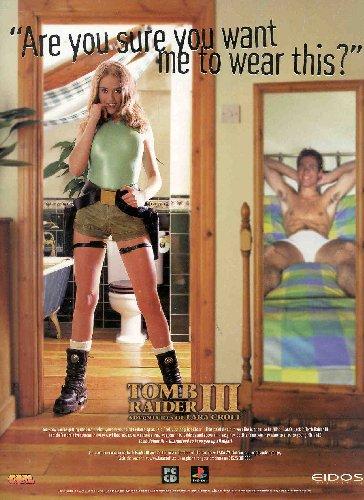 Pub sexiste Lara Croft - Tomb Raider