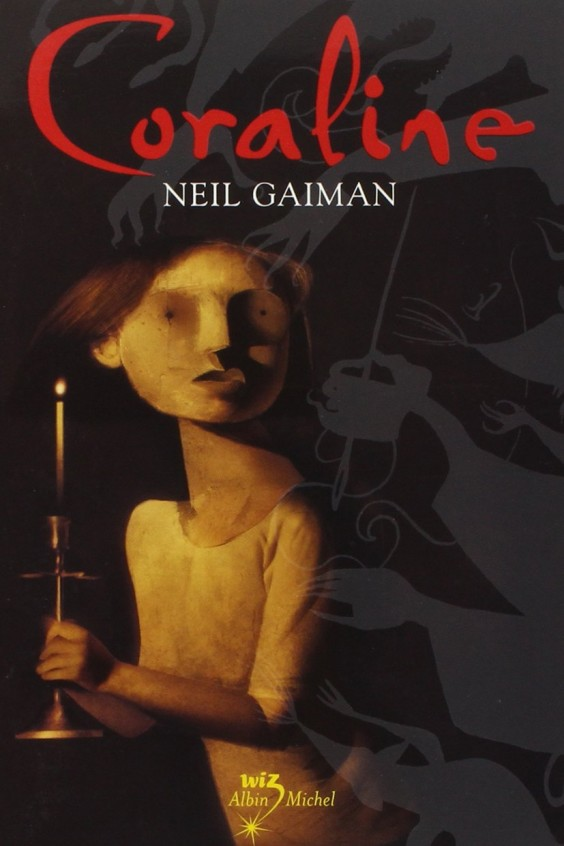 Couverture de Coraline de Neil Gaiman