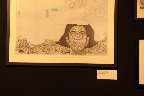 """Vue très """"artistique"""" de quand ej ne lève pas la tête... Pas très pratique pour admirer le travail de LiChi Tak, talentueux auteur Hong-kongais…"""