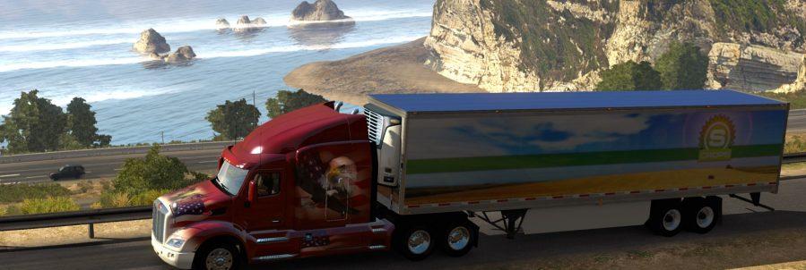 american truck simulator cote