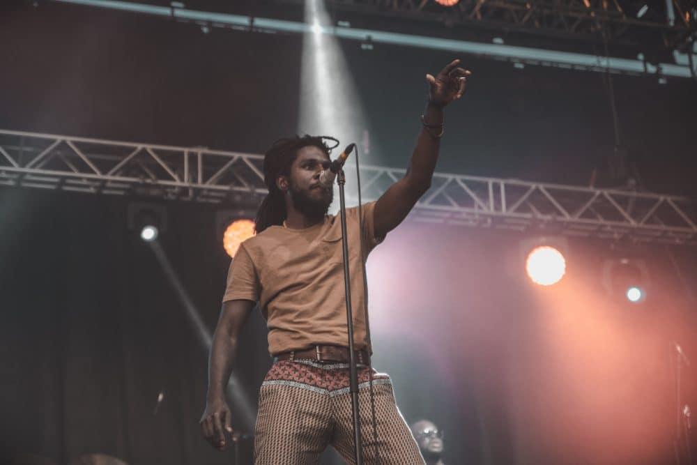 Chronixx au Reggae Sun Ska 2017 – Photo Maxime Ellies