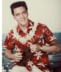 Uke Elvis quelques années avant Burger Elvis