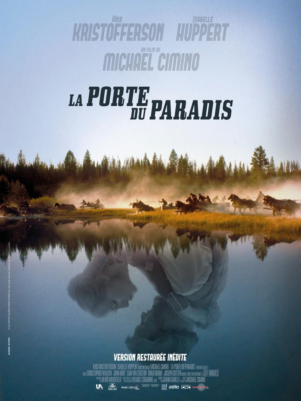L'affiche de La Porte du Paradis à l'occasion de la redistribution du film en version longue remasterisée.