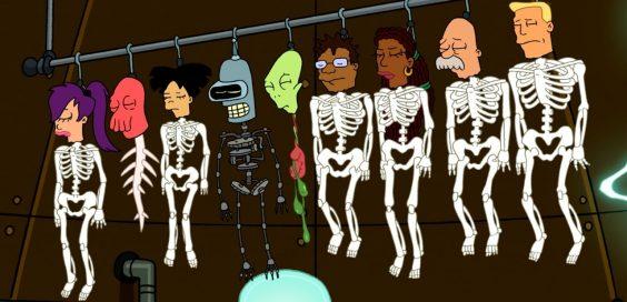 futurama-skeletons