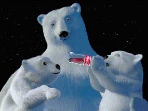 Un peu d'ours polaires, car c'est toujours mignon
