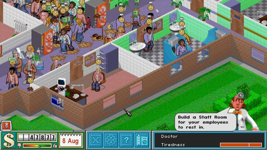 theme hospital gameplay