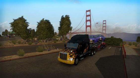 San Francisco s'éveille