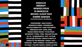 Affiche du Festival Bordeaux Rock 2017