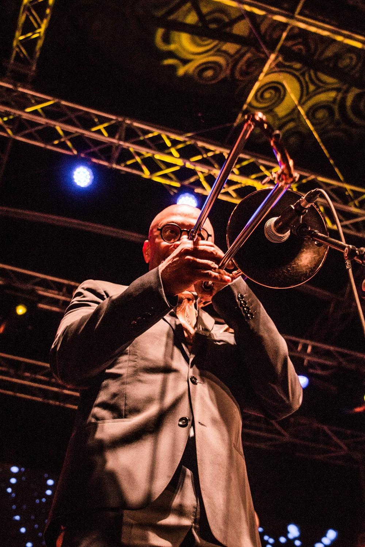 Maceo Parker lors du Saint-Émilion jazz Festival 2018