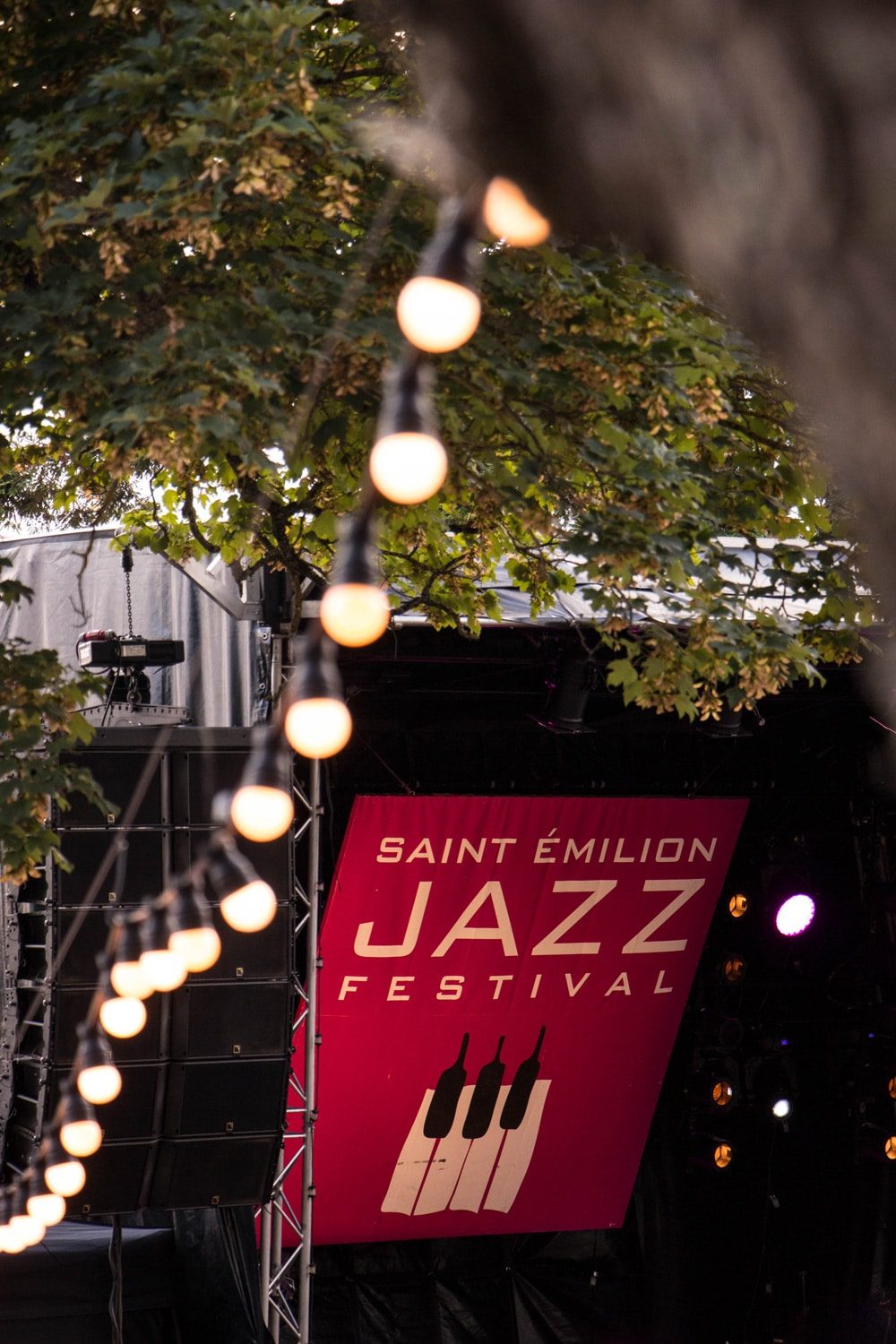 Photo d'ambiance du Saint-Émilion jazz Festival 2018